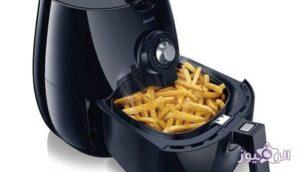 Philips Airfryer HD9220 outer appearance with final cooked fries