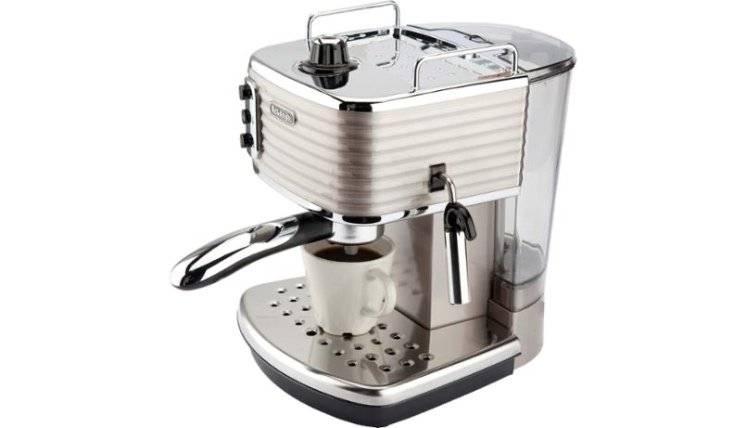 صورة ريفيو تفصيلي عن ماكينة القهوة DeLonghi Scultura ECZ351 BG و عرض لأهم مميزاتها و عيوبها