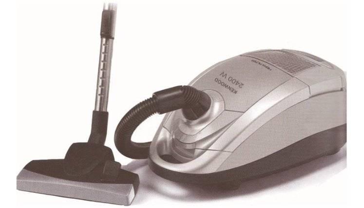 صورة ريفيو عن المكنسة الكهربائية كينوود Kenwood Vacuum Cleaner VC2786