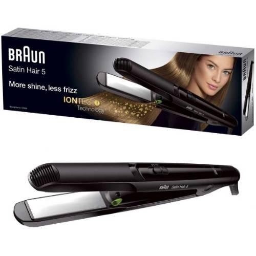 صورة مميزات وعيوب مكواة الشعر براون Braun Satin 5 ST560 Hair Straightener with IONTIC Technology