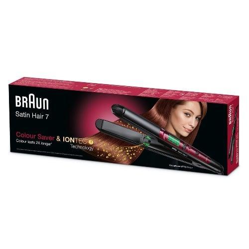 صورة سعر ومميزات مكواة الشعر براون ساتين هير 7 Braun Satin Hair 7 ST750