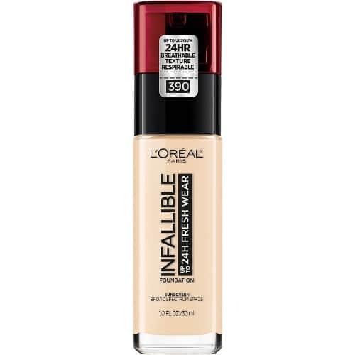 صورة مميزات وعيوب L'Oréal Infallible 24H Stay Fresh Foundation