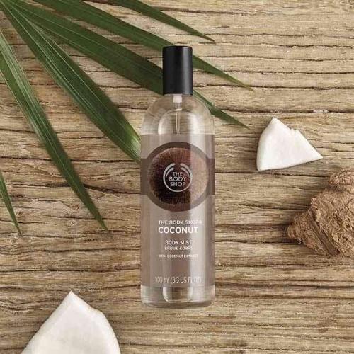 صورة مميزات وعيوب The Body Shop Coconut Body Mist