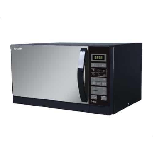 صورة سعر ومميزات ميكروويف شارب 25 لتر (Sharp Microwave R-750MR(K