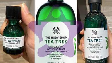 صورة مميزات وعيوب منتجات شجرة الشاي من بودي شوب