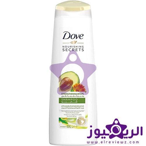 فوائد شامبو دوف للشعر سعر Dove Strengthening Ritual Shampoo الريفيوز