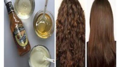 صورة كيفية تنعيم الشعر الخشن بدون فرد