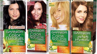 صورة تعرفي علی كيفية اختيار لون صبغة غارنييه المناسب لكِ