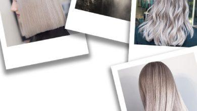 صورة 7 درجات عصرية وجذابة من لون الشعر أشقر رمادي.. تعرفي عليها